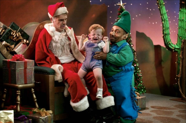 Дети плохо себя вели в уходящем году? Припугните, что на биробиджанском «Арбате» Плохой Санта для них залил горки