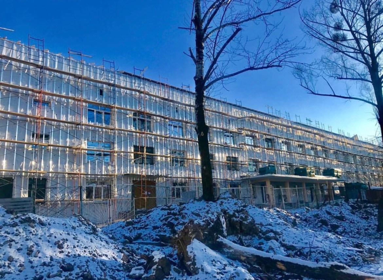 Ремонт областной детской больницы идёт в заданном темпе