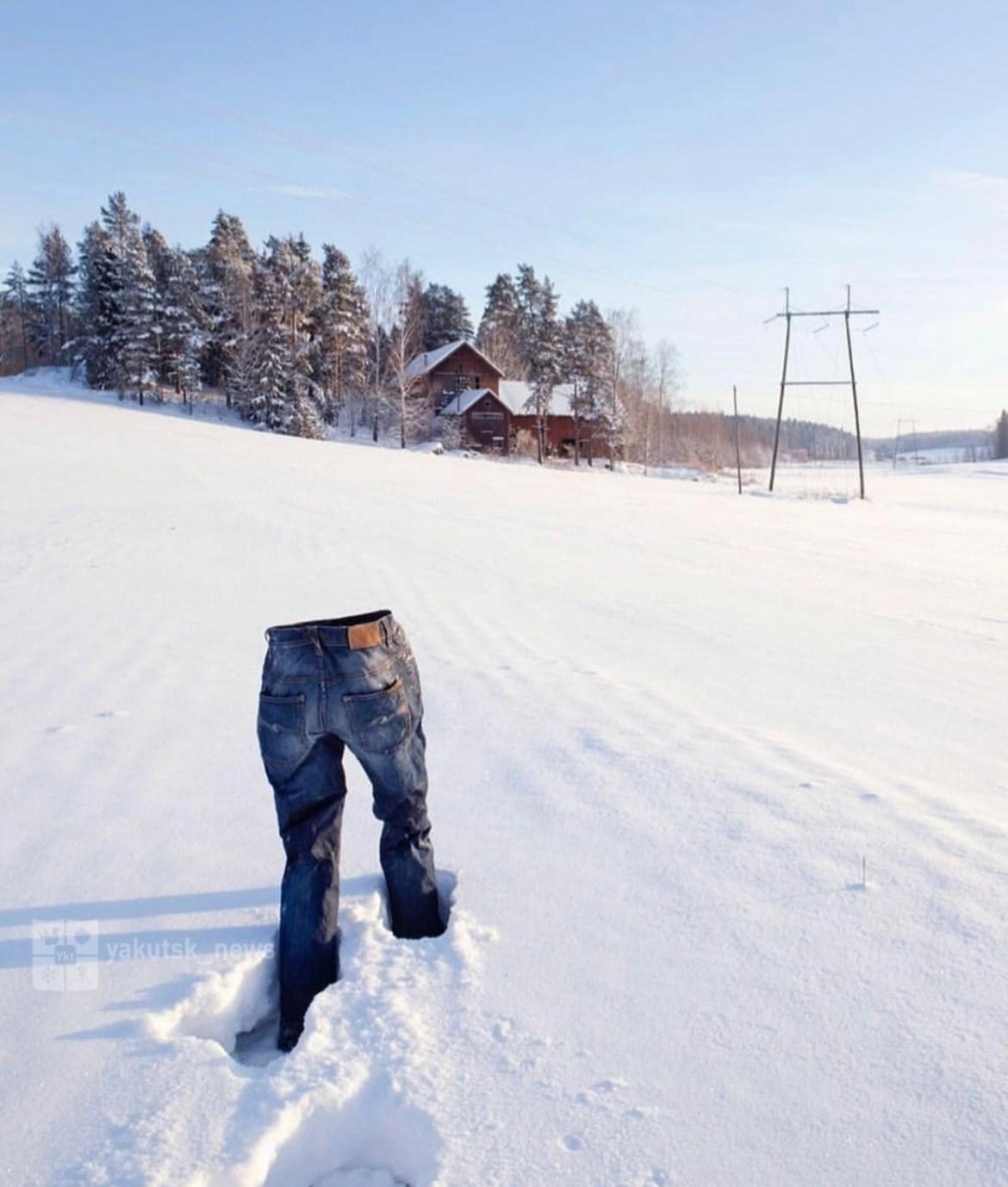 Всё еще #дубакчеллендж? Сибиряки уже подсмотрели новый морозный челлендж у американцев