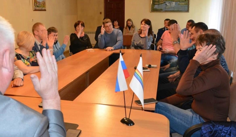 В городе Облучье депутаты избрали нового мэра