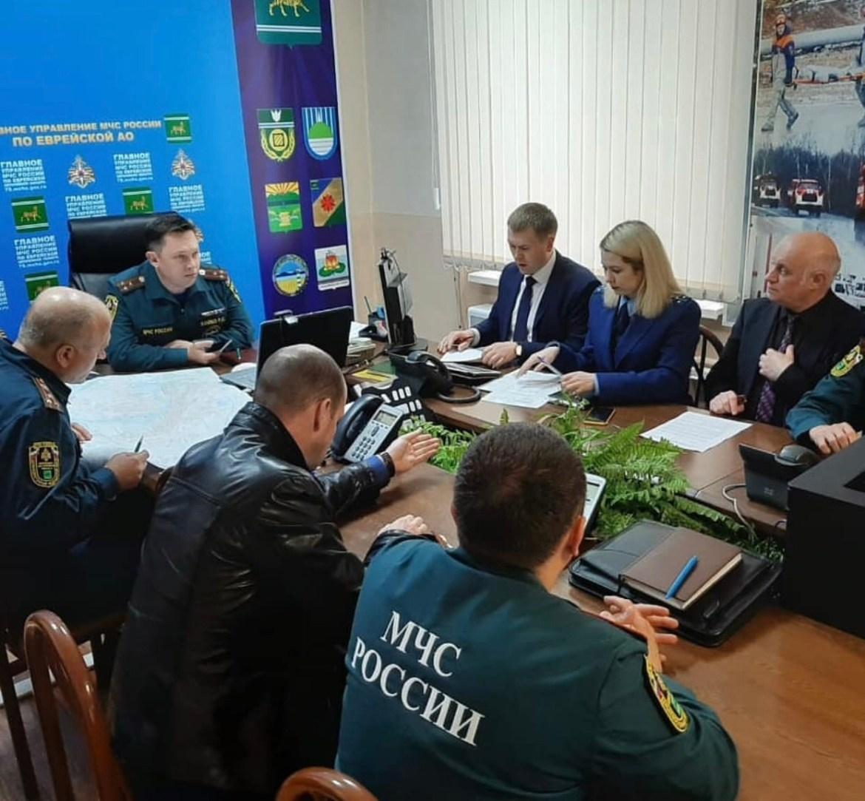 «Внимание, город!»: мэр Биробиджана обратился к горожанам по поводу возможного подтопления посёлка Тукалевский