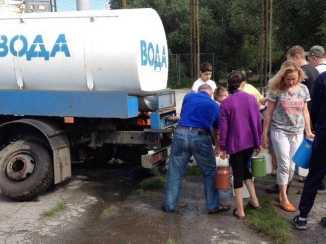 наводнение подвоз воды
