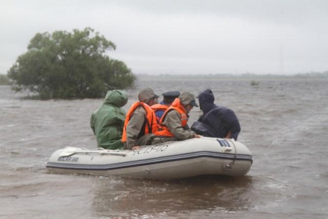 наводнение в Смидовичском районе ЕАО
