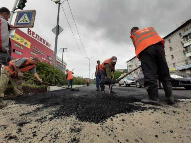 Мэрия: Биробиджан получит в 2020 году тот же объём денег на ремонт дорог, что и в 2019