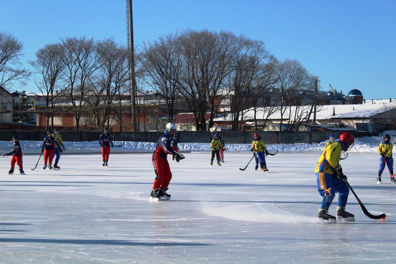 Рождественский хоккейный турнир прошел в Биробиджане