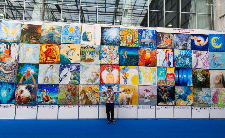 В МСИ ЕАО пройдёт выставка международного арт-проекта «Ангелы мира»