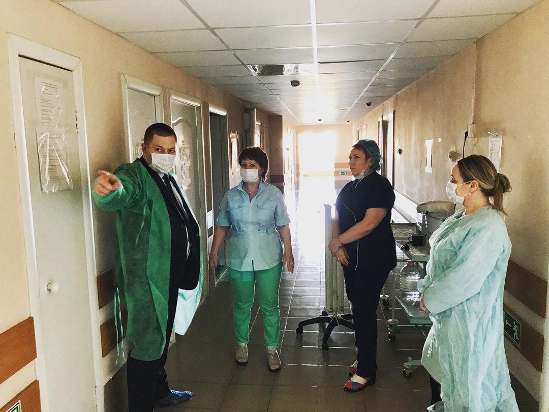 Реанимационные койки в областной инфекционной больнице пусты