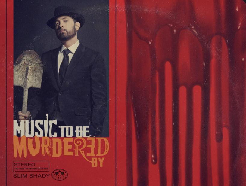 Eminem внезапно выпустил новый альбом «Music To Be Murdered By»