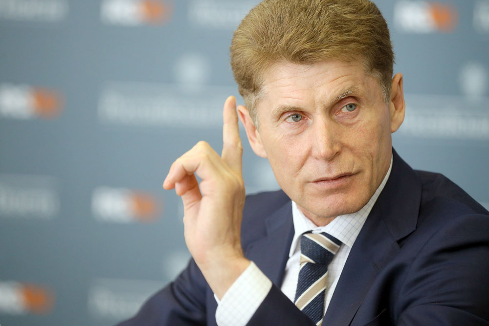 Губернатор Приморья отказался от зарплаты