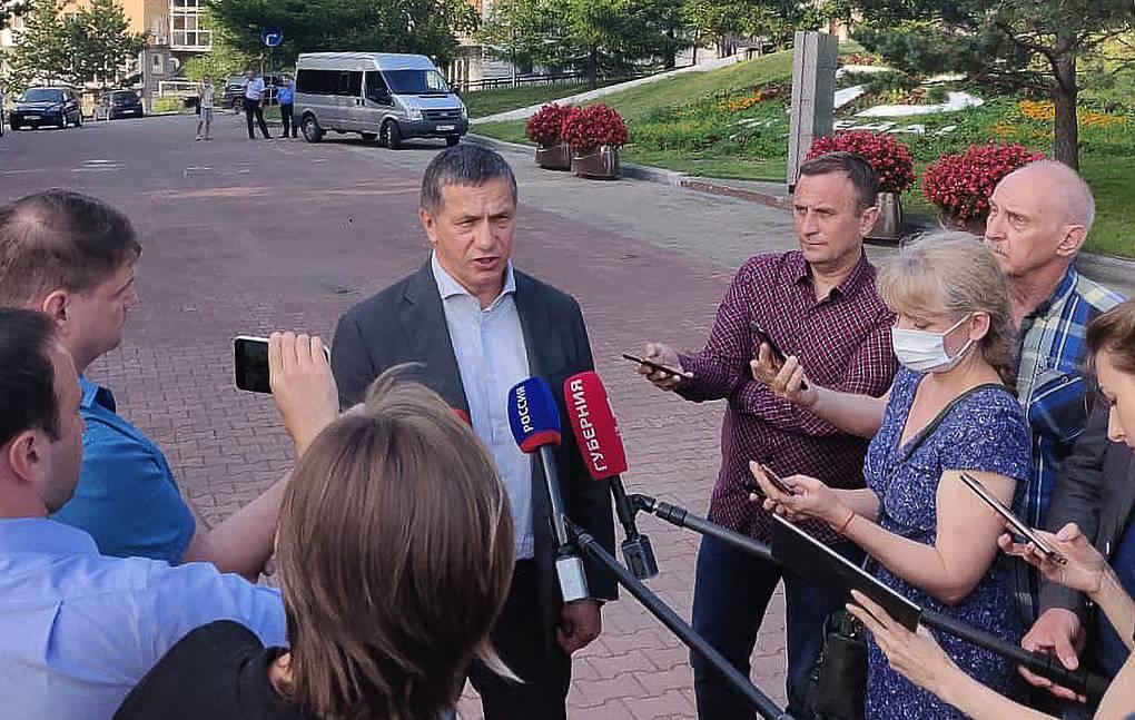 Трутнев прокомментировал реакцию жителей Хабаровского края на арест Фургала