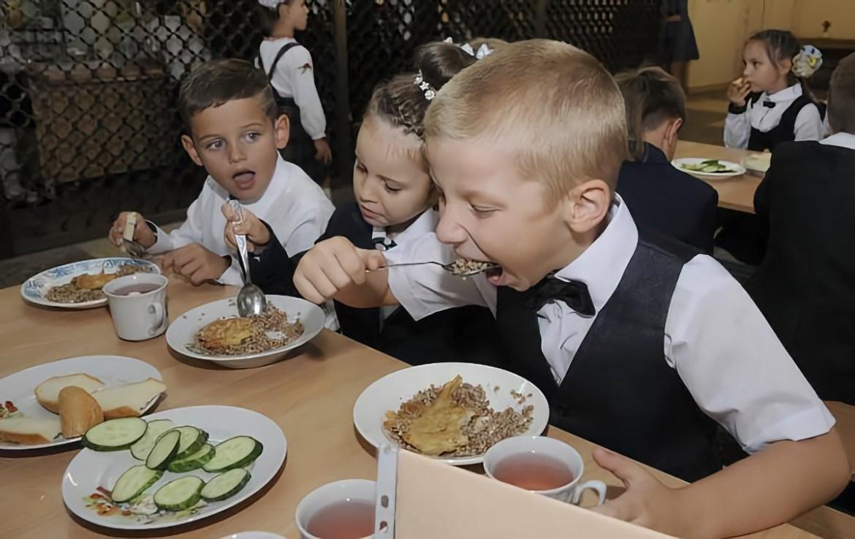 Обещанное Путиным бесплатное горячее питание в школах Биробиджана пока не ощутили ни родители ни ученики