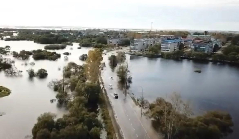 В селе Ленинское Ленинского района ЕАО объявлена эвакуация жителей (ВИДЕО)