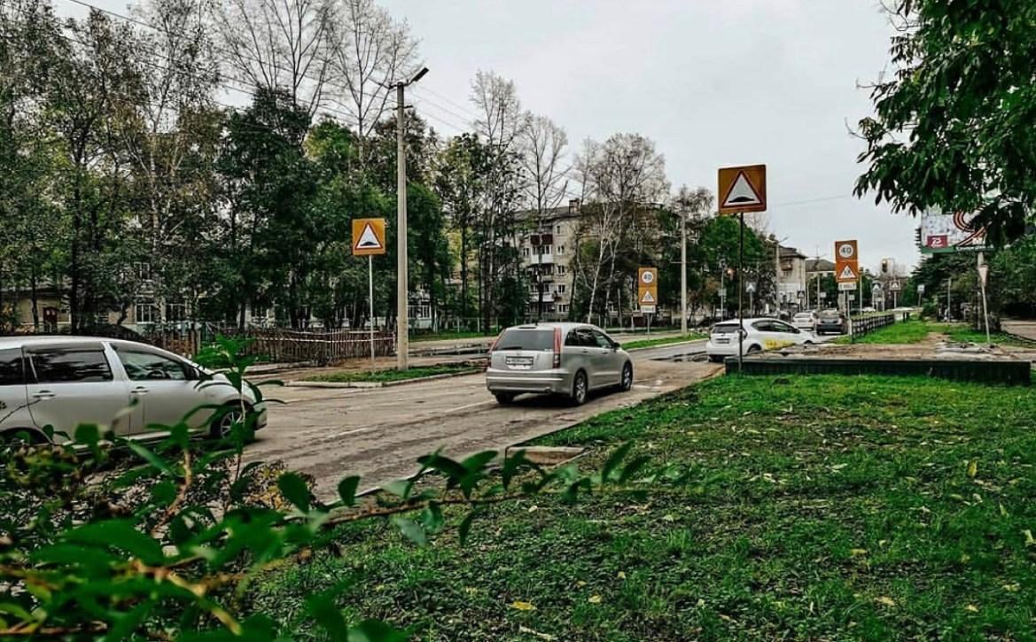 Автомобилисты Биробиджана вздохнули свободно: восстановлено движение по Пионерской