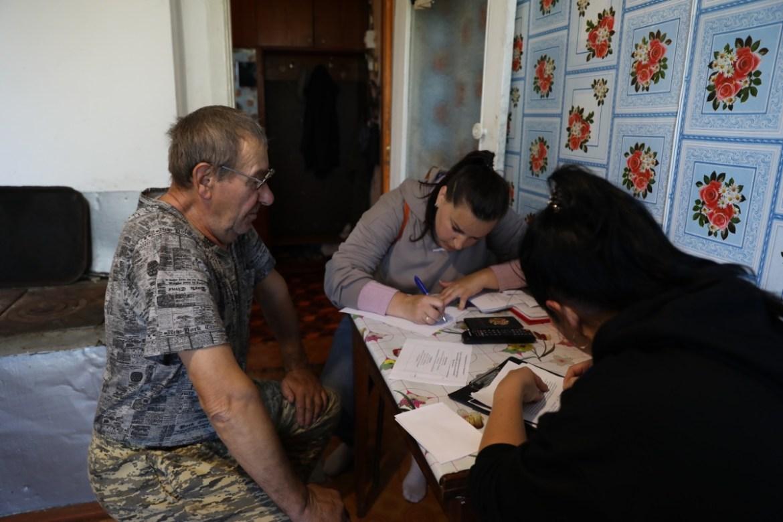 В селе Ленинское работает девять комиссий по оценке ущерба от наводнения