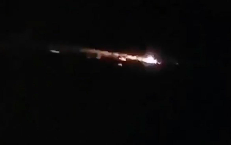 Специалисты прокомментировали горящие объекты в небе над Дальним Востоком