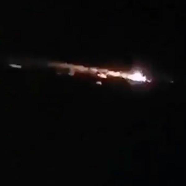 В Биробиджане и нескольких других городах на ДВ наблюдали падение метеорита в ночь перед Хэллоуин