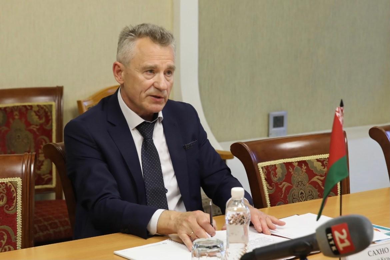 Руководитель отделения посольства Республики Беларусь посетил Биробиджан