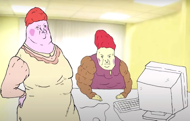 Российская офисная хтонь: в короткометражке Евы Морозовой у пенсионерок из офиса «День такой» и этим все сказано