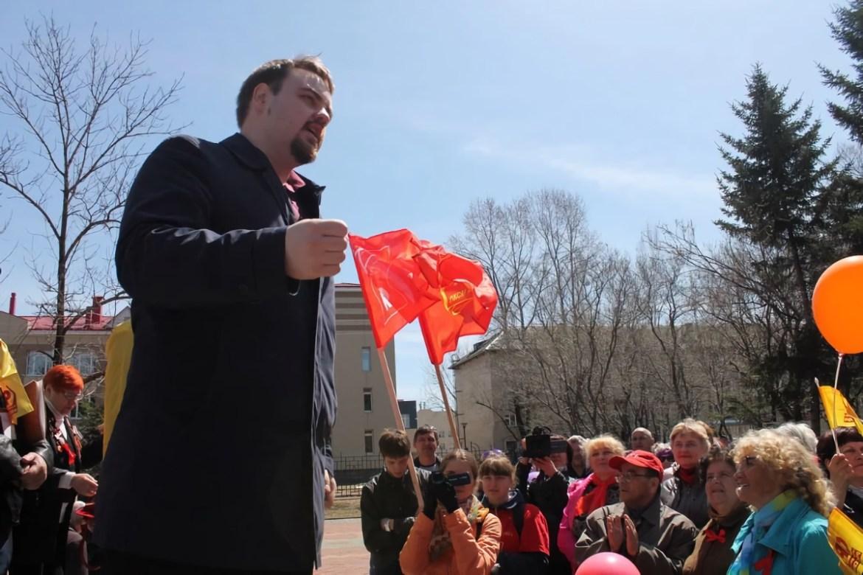 Владимир Сахаровский возглавил редакцию газеты Амурского отделения КПРФ «Коммунисты Амура»