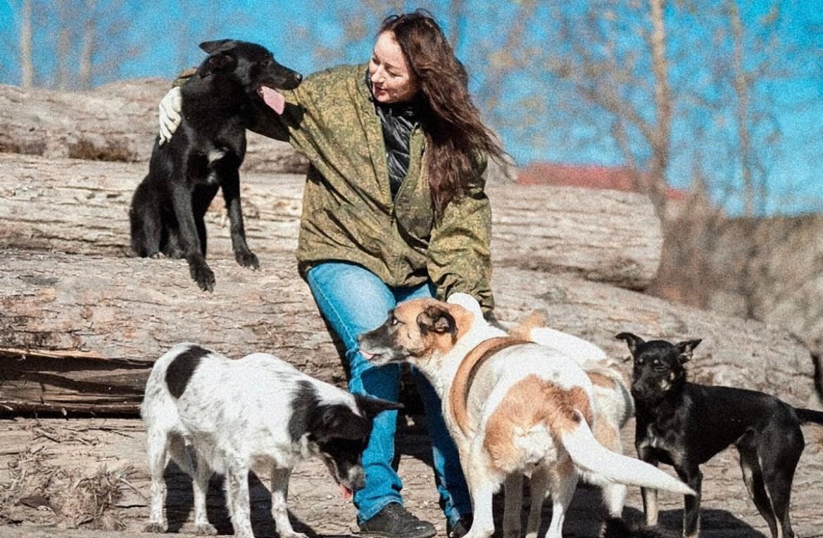 Зоозащитница Ольга Батенкова винит в возросшем количестве бродячих собак в областной столице самих биробиджанцев