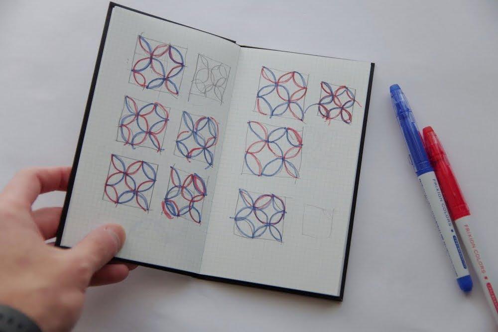 七宝柄カラー検討