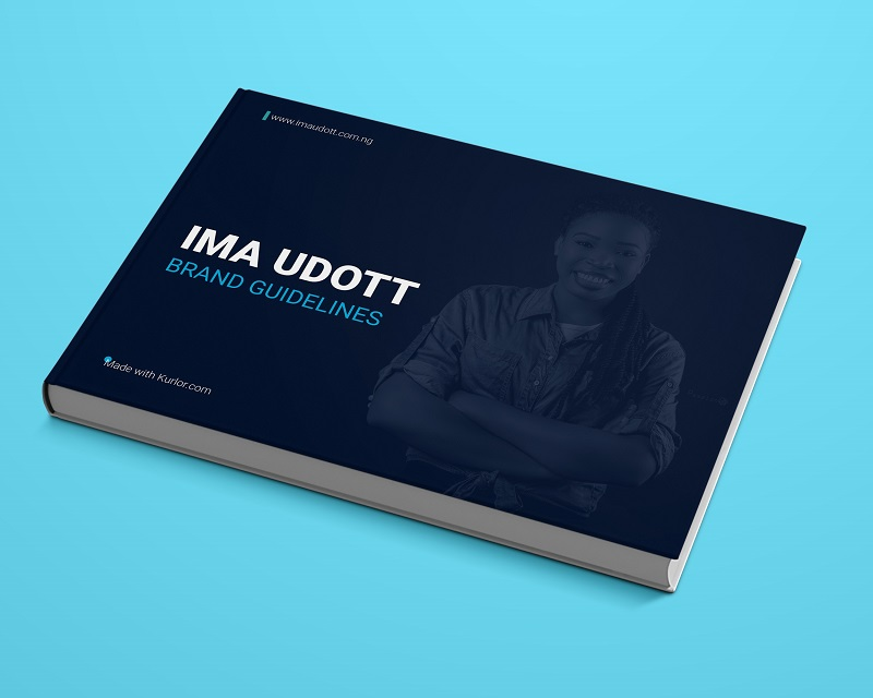 Ima Brand Guide development for Ima Udott - a creative writer and advocate