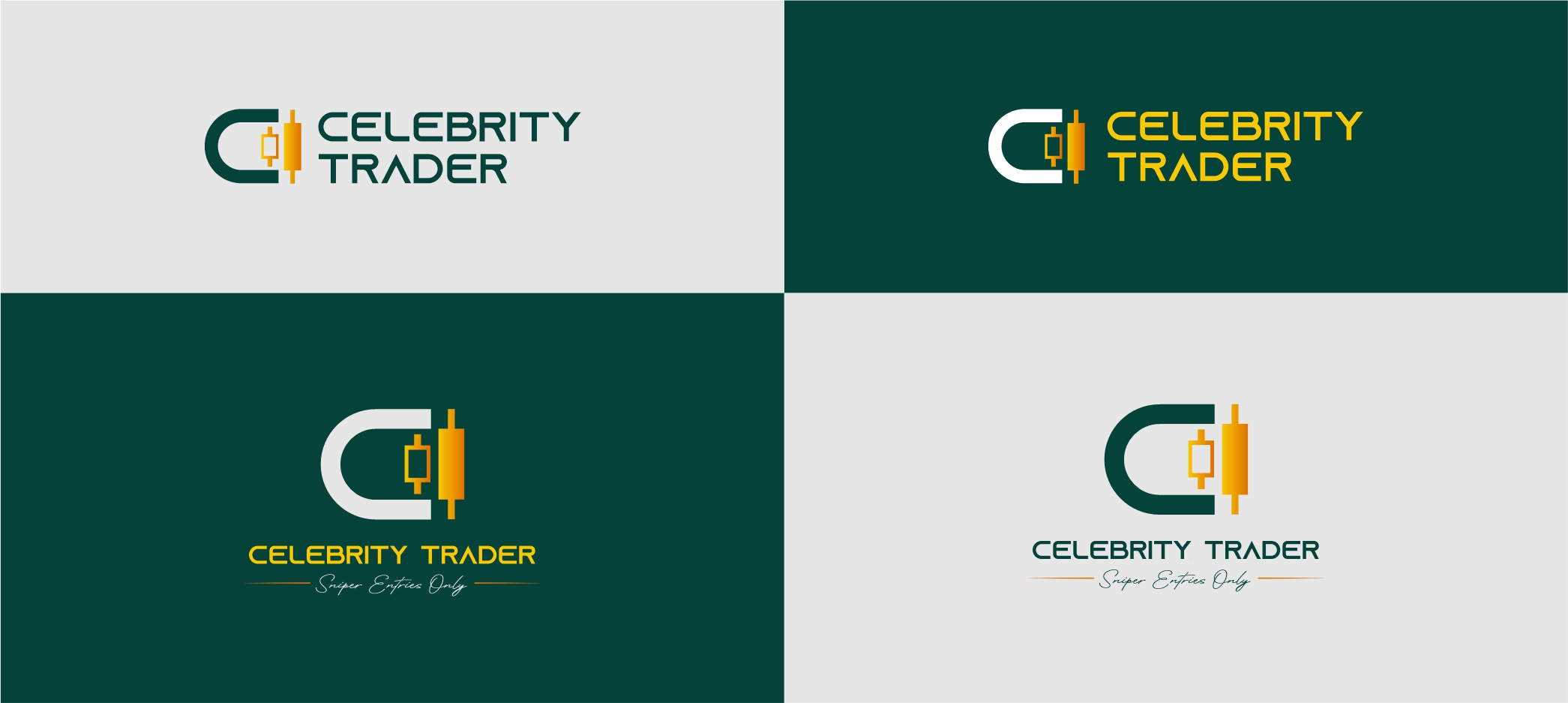 Logo Design & Branding for Forex Brand - Celebrity Trader