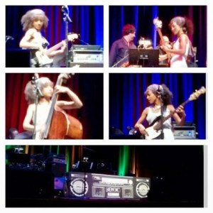 Esperanza Spalding doing her thing!