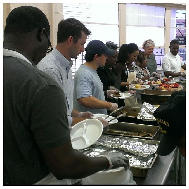 Feeding the Homeless #Grateful