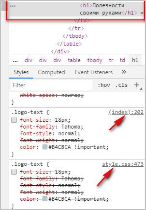 Редактирование кода