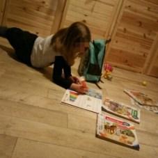 Malen, Lesen, Mädchen