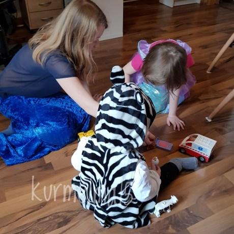 Kerneval, Kostüm, Meerjungfrau, Zebra, Ariel