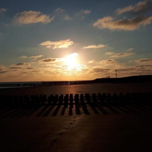 Zeeland, Sonnenuntergang