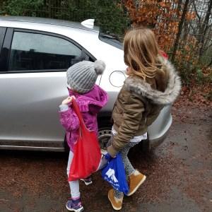 Auto, Mütze, Winterjacke