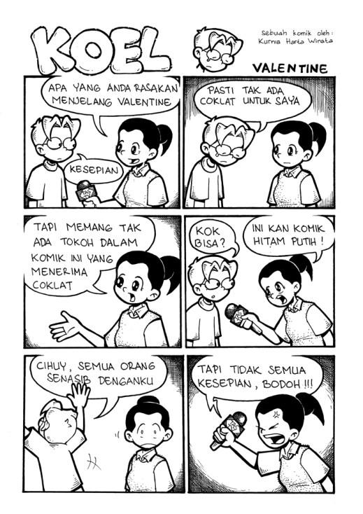 Komik Kepedulian Sosial : komik, kepedulian, sosial, Menciptakan, Ruang, Dialog, Komik, Media, Sosial, Kolom, Kurnia