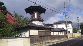 @須坂の街並み 円光寺、太鼓堂