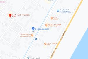地図:ドゥカーレ・ガーデンホテル