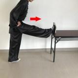 【ストレッチ】足のベーシックカンフーストレッチその1(正圧腿)