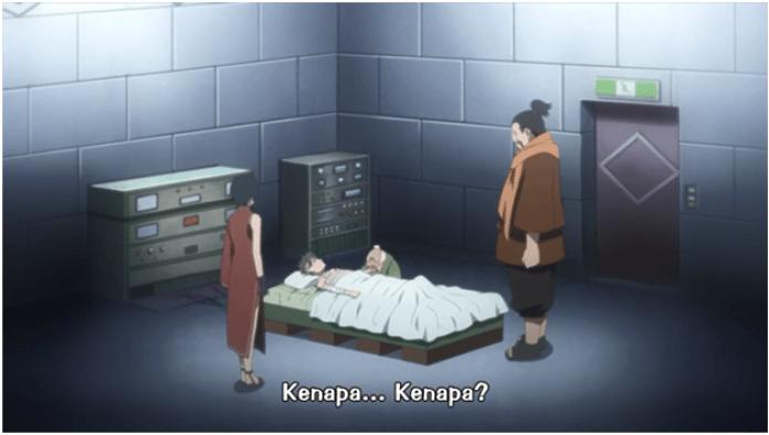 Kozuchi gugur saat berusaha menghadang shinobi pelarian