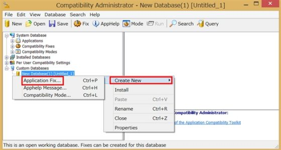 Microsoft Application Compatibility ToolkitでFPS改善1