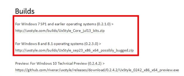 UXStyle coreをインストール01