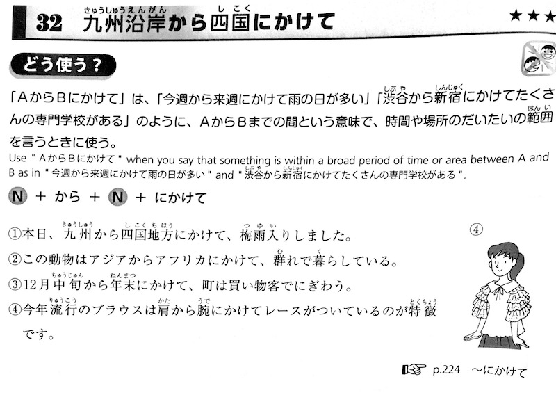 try! japanese language proficiency test example