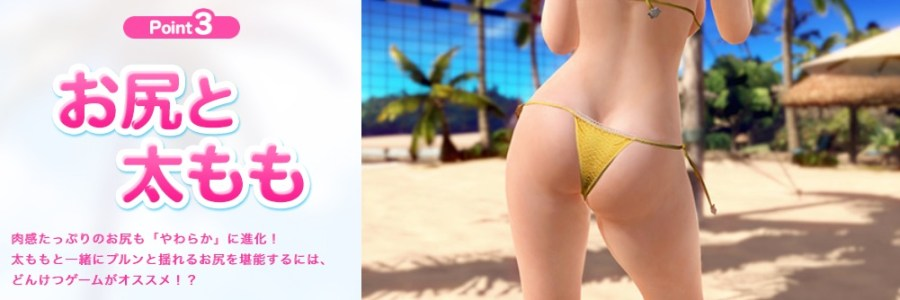 dead or alive xtreme 3 features 3