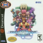 dreamcast phantasy star online cover