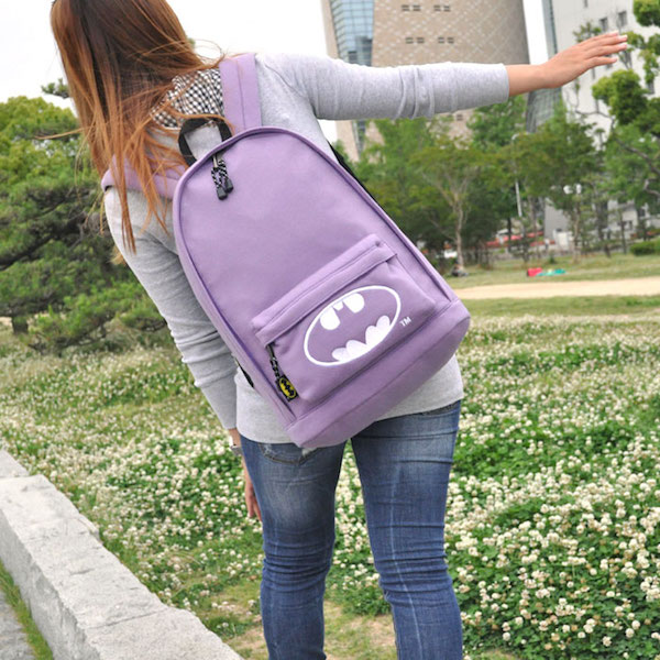 batman girl backpack