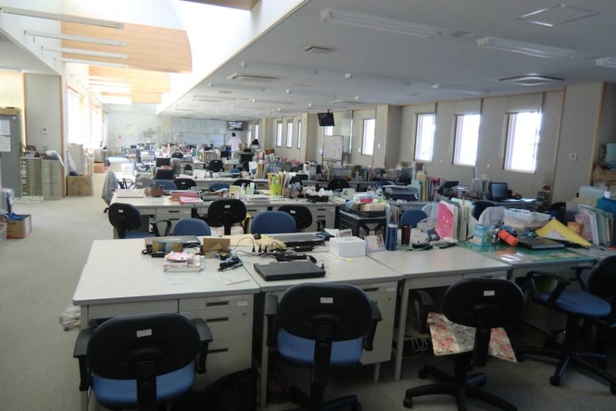 A Japanese School Staff Room