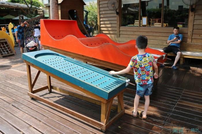 台中親子景點 老樹根魔法木工坊 親子木做diy 孩子的溜滑梯天堂