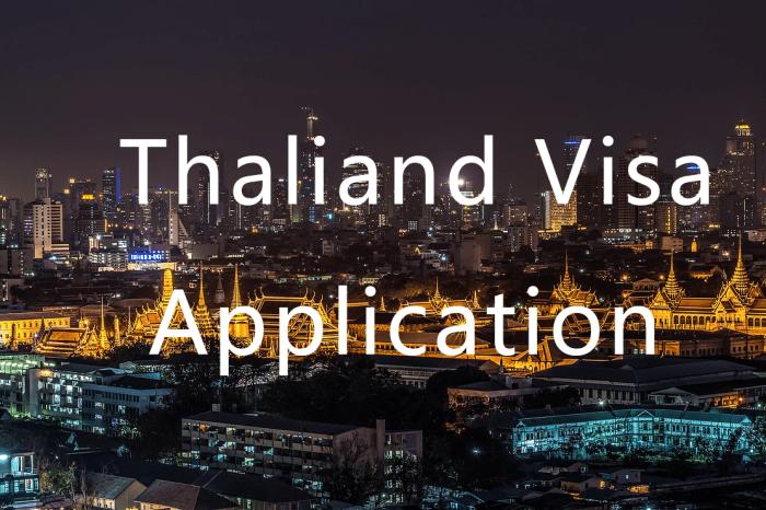 泰簽申請不求人  泰國簽證超詳細教學 自己辦代辦泰國觀光簽自由行一次搞定