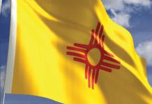 New Mexico Flag Medical marijuana license
