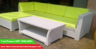Harga Sofa Rotan Murah Industri Pabrik Toko